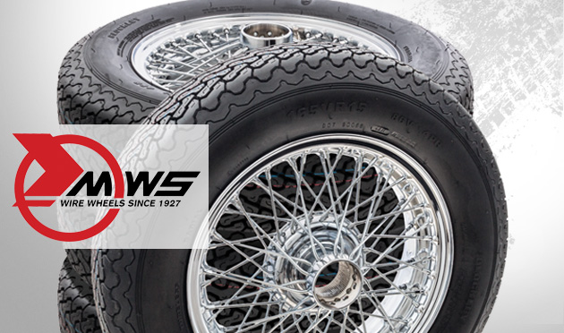 Jeu de roues rayons & pneus montées et équilibrées